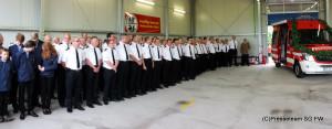 Besuch der Feuerwehr Wölpinghausen beim befreundeten Löschzug Werther