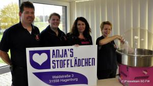 Zuckerwattemaschine für die JF Hagenburg-Altenhagen